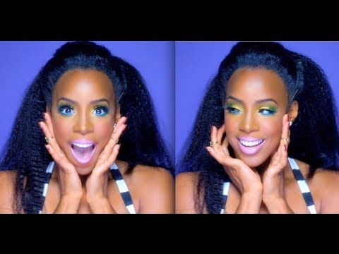 Kelly Rowland - Kisses Down Low Makeup * PRODUCTS USED * Tarte 12-hr Perfecting Primer Cinema Secrets Cream Foundation MAC Deep Dark Brunette Brow Fluidline MAC Soft Ochre Paintpot Coastal Scents Cell...