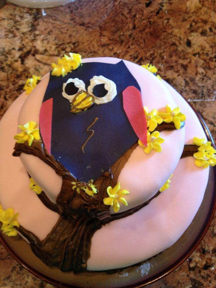 Happy Birthday Salomon Cake Dog