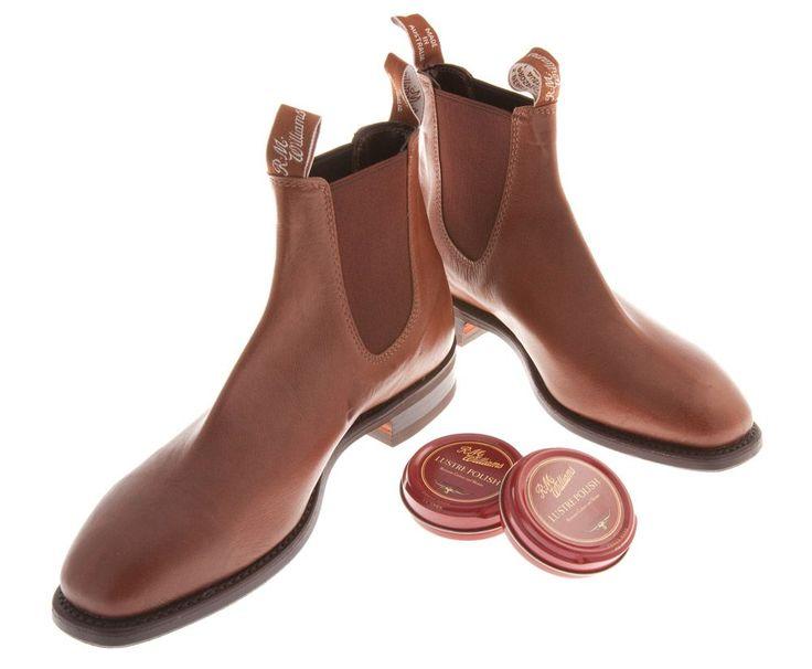 RM Williams - Comfort Kangaroo Craftsman Boot - Tanbark