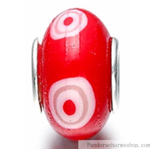 http://www.pandoracharmsshop.com/low-pandora-red-white-fimo-beads-charms-488-sale.html#  Grand Pandora Red White Fimo Beads Charms 488 Sales