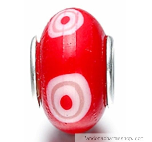 http://www.pandoracharmsshop.com/low-pandora-red-white-fimo-beads-charms-488-sale.html#  Grand Pandora Red White Fimo Beads Charms 488 Sales