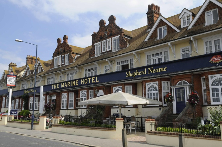 The Marine Hotel, Whitstable- Kent Conference Bureau, KCB. Available to hire for private and corporate functions. Venue with a difference.