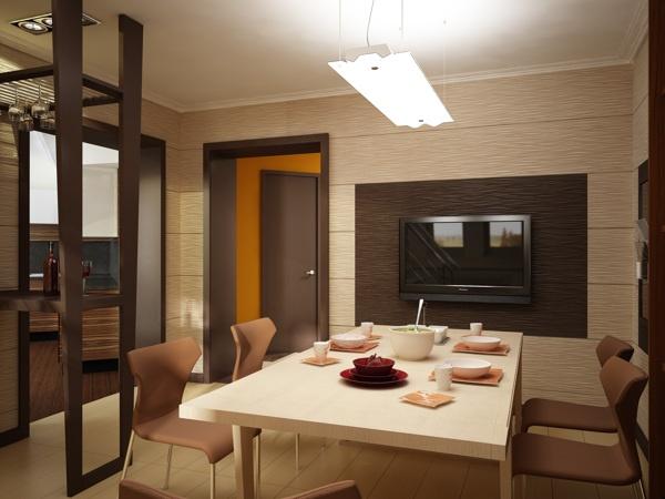 Dining room by Stanislav Torzhkov, via Behance