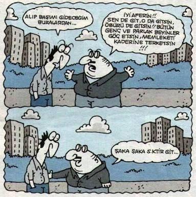 Karikatür XL: Şaka Şaka...