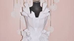 newspaper dress how to make