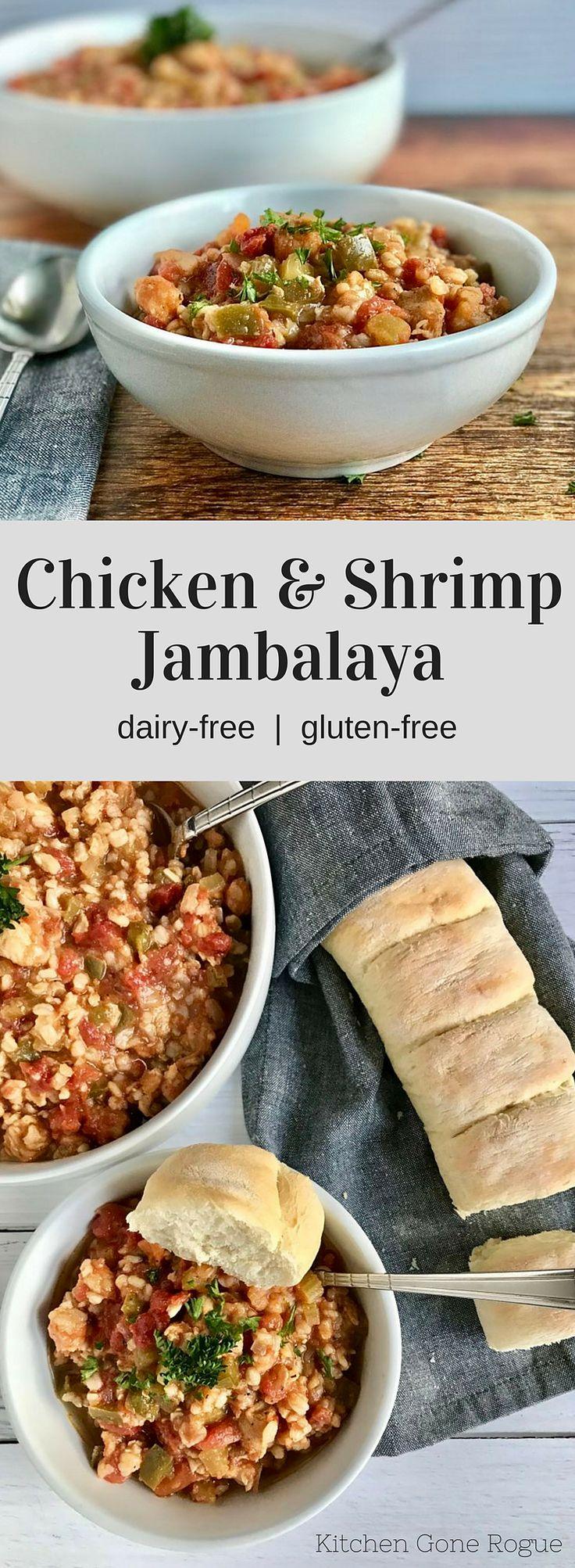 Chicken and Shrimp Jambalaya Kitchen Gone Rogue