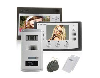 ZDL-28T1+ZDL-035C+027C Wired Night Visual Colour Video Doorphone with 2 TFT LCD for Access Control System by QLPD. $710.06. This doorbell phone system allows you to see and to talk to visitors before opening the door.