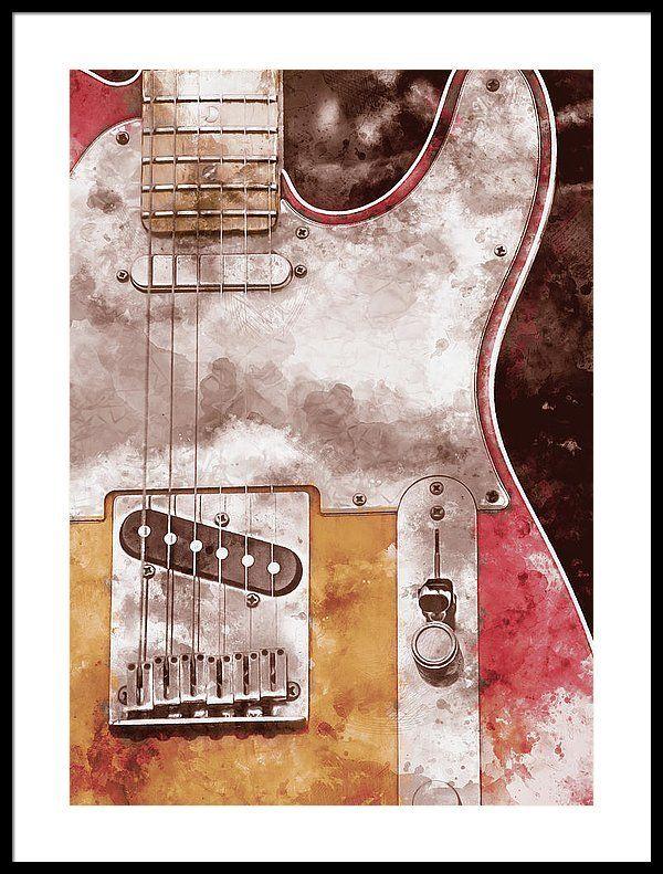 Art Print Artprints Wallart Walldecor Interiors Interiorstyling Homedecor Gift Giftideas Fineart Finearta Fender Stratocaster Guitar Classic Guitar