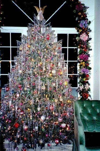 Tinsle on a Christmas Tree