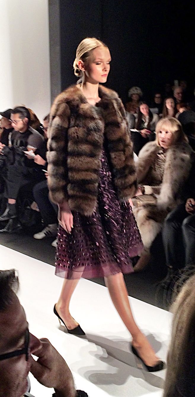 The perfect pairing of a beautiful dress and a stunning jacket. It doesn't always have to be a long coat