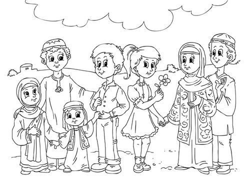 kids islam coloring pages - photo#26