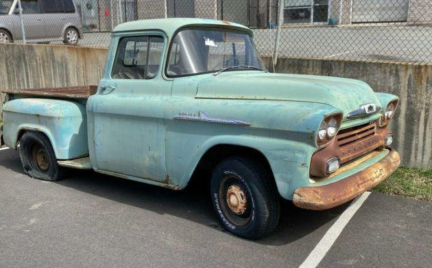 Barn Find: 1958 Chevrolet Apache Stepside | Chevrolet ...