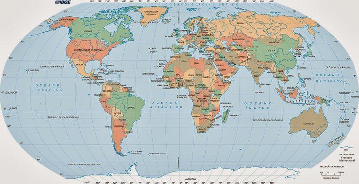Mapas Mundi Para Imprimir