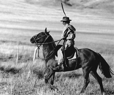 El argumento: Indalecio es un gaucho que regresa a su rancho, despues 15 años en el cárcel.   Él yendo de ver su esposa y niño. Indalecio no sabe que su esposa es casado con niños a hombre diferente.