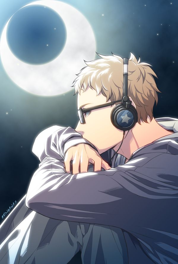 is it just me or does he look like that guy from Owari no Seraph?<---NO! It's Tsukishima from Haikyuu!!