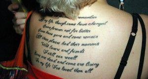 in my life beatles lyric tattoo | Beatles In My Life Lyrics