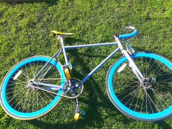 Bicicleta pión fijo fixie