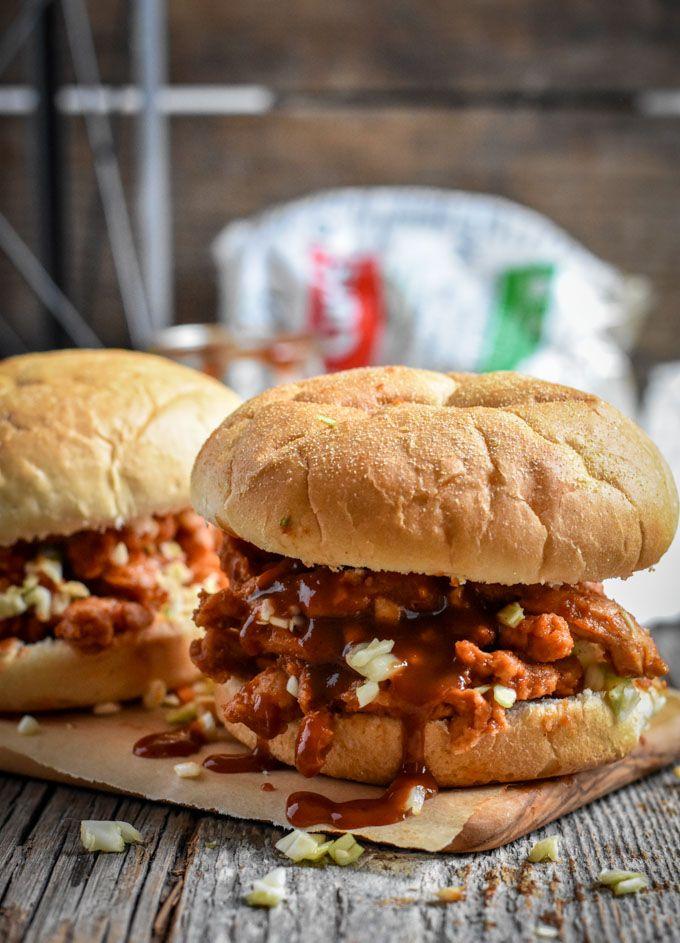 Best Damn Vegan BBQ Sandwich