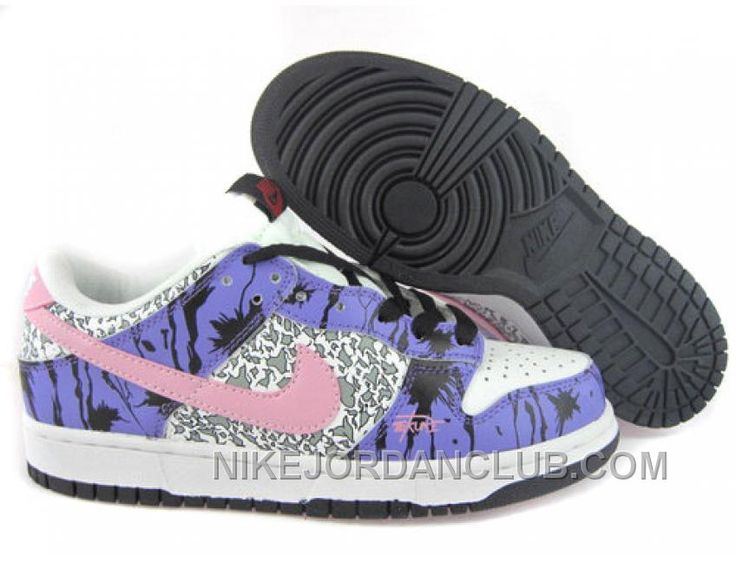 pretty nice e9af9 b9800 ... womens nike dunk low athletic shoe bright pink ...