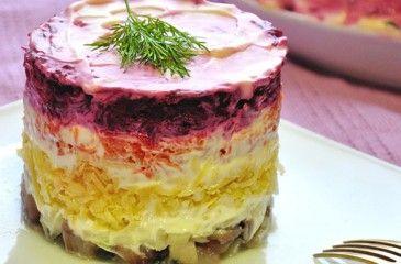Салат Селедка под шубой - пошаговые рецепты с фото. Приготовление и оформление салата из селедки под шубой