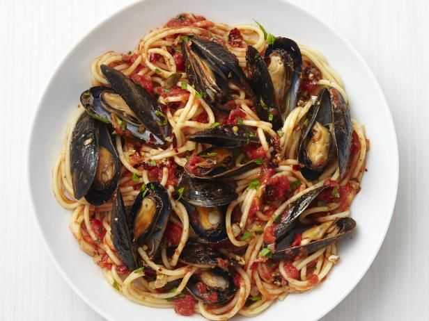 Get Sicilian Mussels Marinara Recipe from Food Network