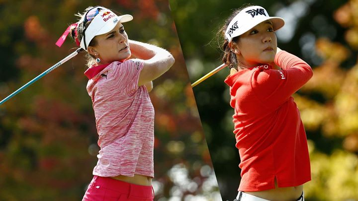 Lexi Thompson and Lydia Ko Share Lead Heading into Final Round of Indy Women in Tech Championship. (LPGA.com) Its a race to the finish line at the Indy Women in Tech Championship presented by Guggenheim with young guns Lexi Thompson and Lydia Ko leading the pack at 15-under 129 after the first two rounds at Brickyard Crossing Golf Course. Thompson followed Thursdays 9-under 63 with a bogey-free 6-under 66 on Friday afternoon. The round may not have been as flashy as the day before but it was…
