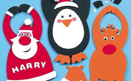 Como hacer adornos navideños en foami - Nocturnar | goma eva ...