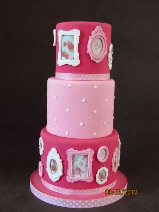 Picture Frame Cake