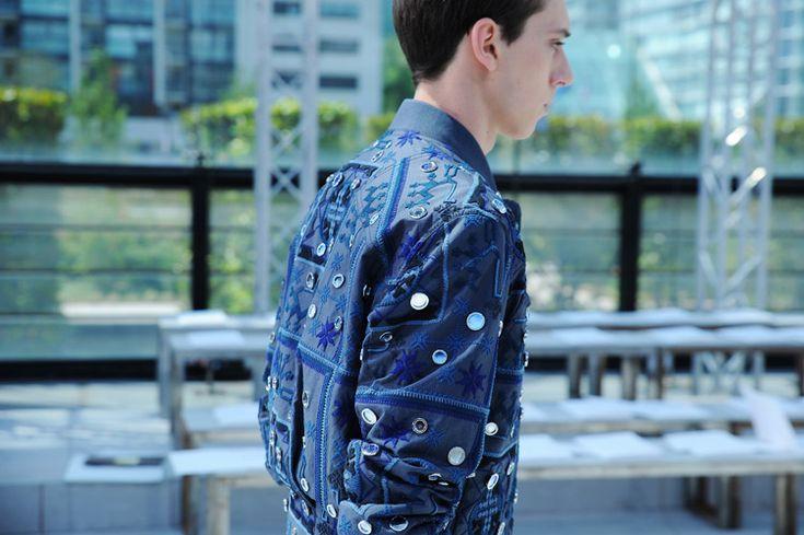 Trevor, Louis Vuitton Spring Summer 2015 Menswear Backstage