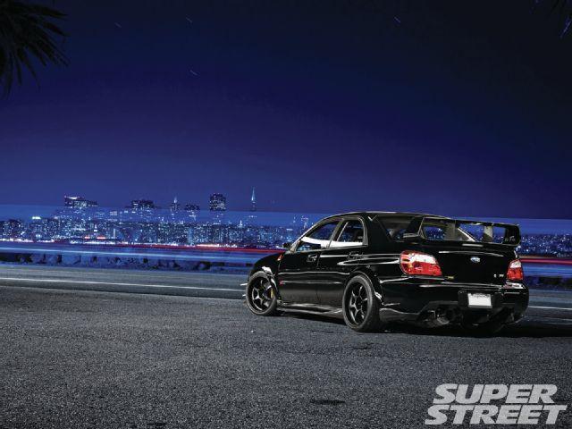 2007 Subaru WRX Sti Rear
