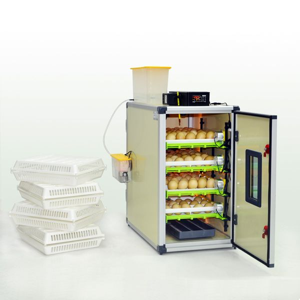 CT 120 SH Egg Incubator for sale in UK  120 Chicken Egg, 80 Turkey - Duck, 312 Quail,  168 Partridge,  114 Pheasant, 48 Goose - Peacock,  fully automatic humidification, fully automated control.