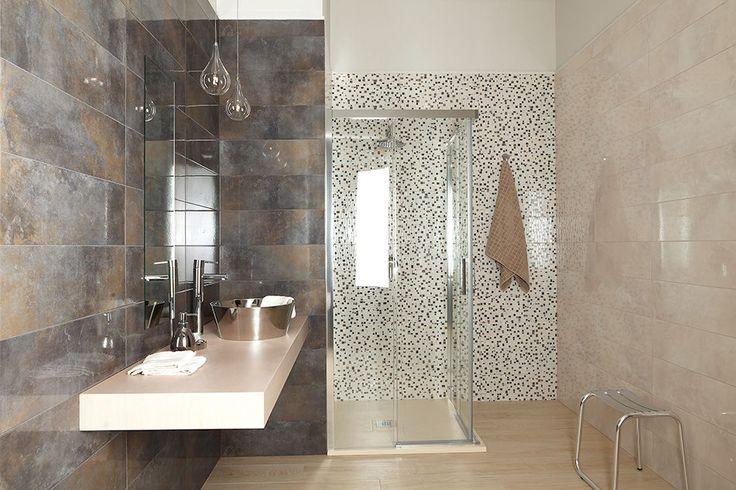 103 best images about salle de bain on pinterest pebble - Salle de bain leroy merlin catalogue ...