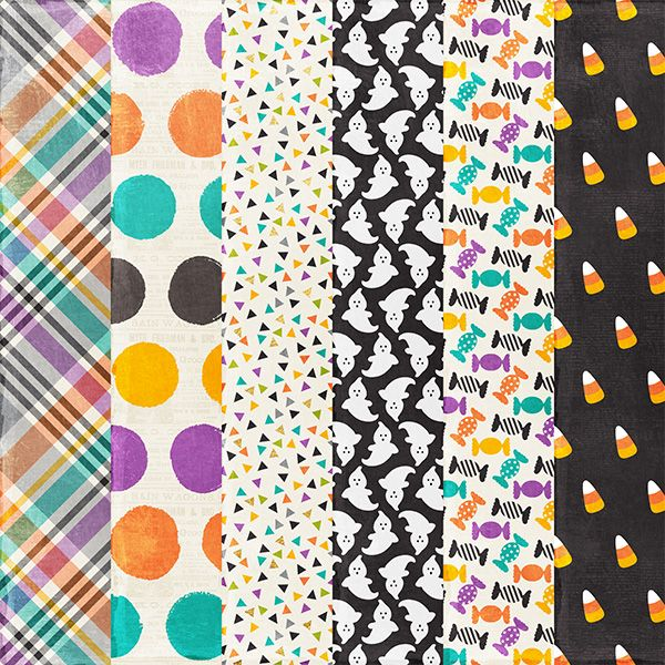 Free Halloween Paper Pack from Harper Finch
