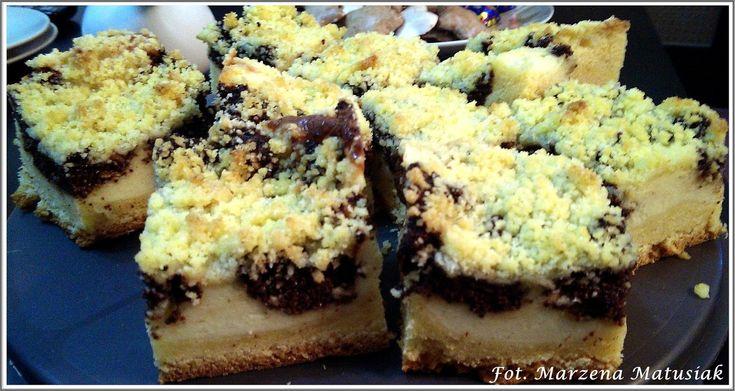 WYPIEKI Z PASJA: Śląski kolocz weselny ( ciasto drożdżowe z makiem i kruszonka )