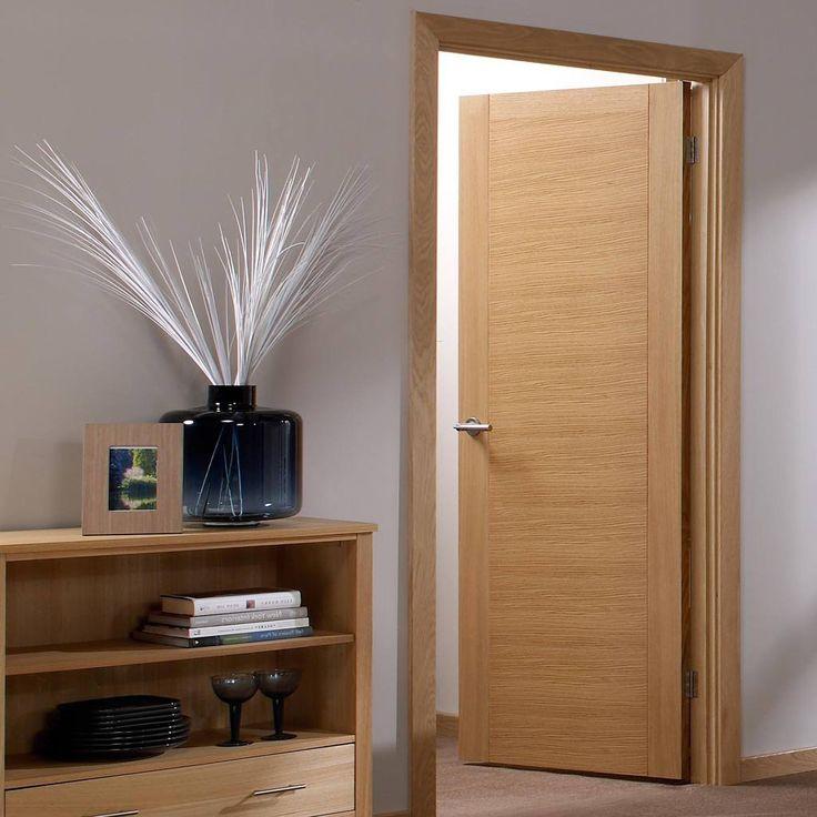 Door Set Kit Aragon Flush Oak Veneered Door - Prefinished & 43 best Unfinished Flush Door u0026 Frame Set Kits - DirectDoors DSK ... pezcame.com