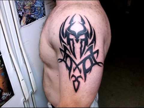 Tribal Spartan Helmet Tattoo Spartan helmet tattoo by
