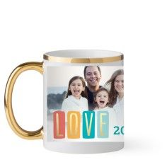 Metallic Mug Bring joy with custom photo mugs by Shutterfly! Save up to 50% OFF when you design + buy a personalized photo mug.