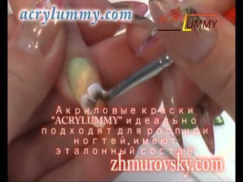 Китайская роспись ногтей, acrylummy.com