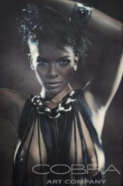 EBONY DREAM Part of Master Collection 2014 Naked photography Artistic nude Cobra Art Company Photographic art on plexiglas