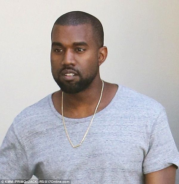 Kanye West wears Nori necklace.