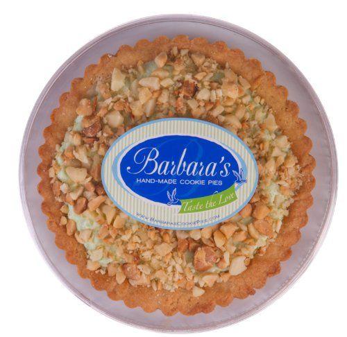 TOPSELLER! Barbara`s Hand-Made Cookie Pies Gourmet Key Lime Macadamia Cookie Pie $19.50