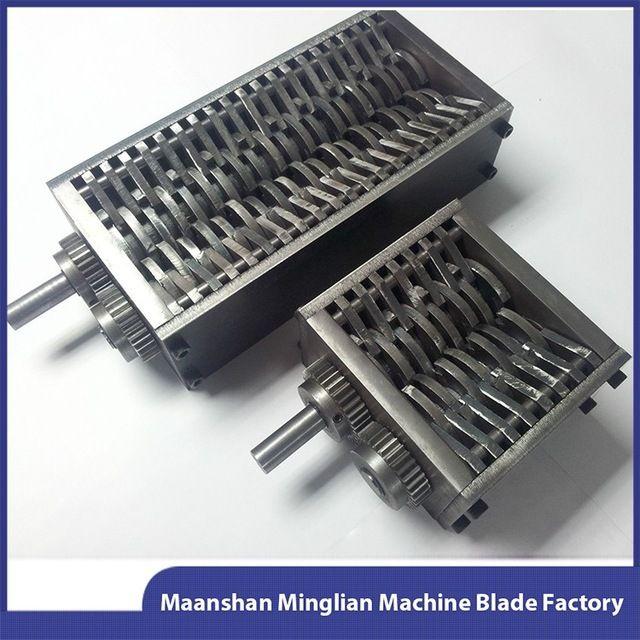 Source Customize double shaft tire shredder machine blades on m.alibaba.com