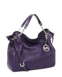 Michael Kors bag, purple - there's another one I've seen too that I REALLY want!