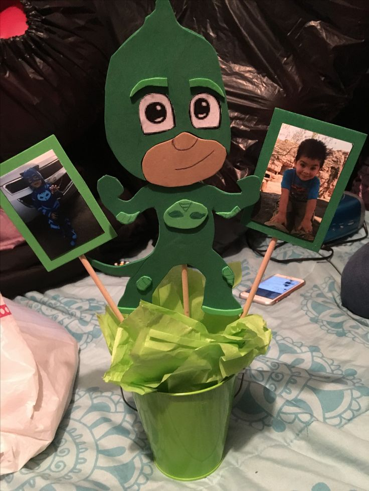 Pj Masks Decorations Gekko