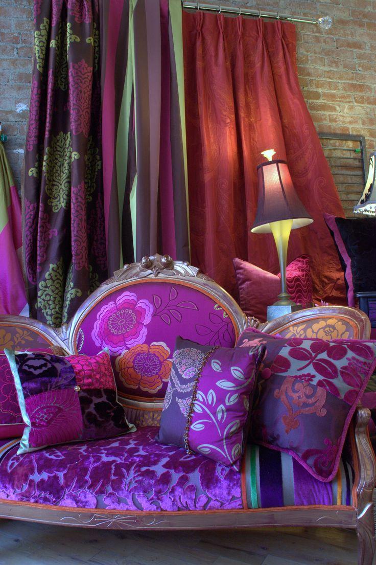 Meer dan 1000 ideeën over rideau violet op pinterest   papier ...