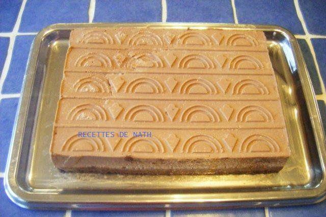 Mousse nutella sur craquant chocolat - Momix et nathalie