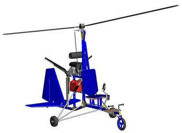 Build Your Own Gyrocopter Plans