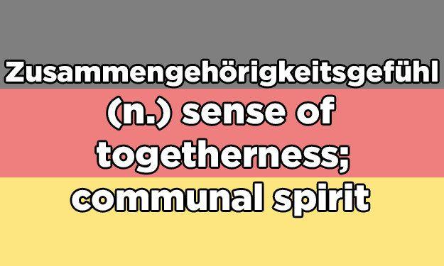 I got Zusammengehörigkeitsgefühl! Which Absurdly Long German Word Describes Your Love Life?