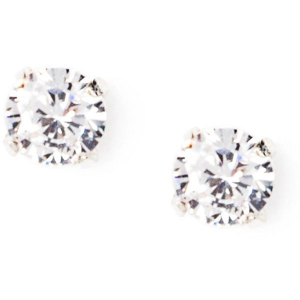 Cubic Zirconia Earrings ($9.50) ❤ liked on Polyvore featuring jewelry, earrings, cz earrings, cz jewellery, cubic zirconia earrings, cz jewelry and earring jewelry