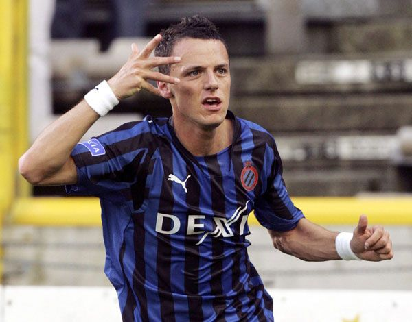 Deaths Today In Sports History: 2008 - François Sterchele was a Belgian footballer who played for Club Brugge. The striker was the top scorer of the Jupiler League in 2006-07. Sterchele died in a single-person car accident.  keepinitrealsports.tumblr.com  keepinitrealsports.wordpress.com